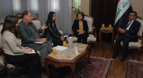 The Secretary-General receives a joint delegation from the Global Network of Women Peacemakers and the Comprehensive Peace Foundation 2018-11-13