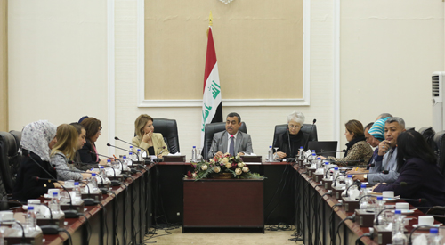 The Secretary General of the Council of Ministers confirms that the implementation of projects concerned with women contributes to strengthening institutional capacities 2018-12-18