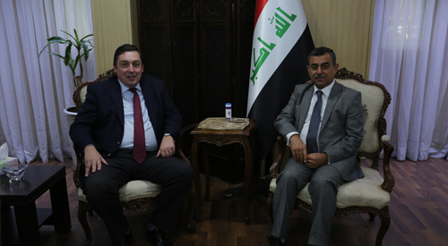 Secretary-General of the Council of Ministers meets with a number of diplomatic missions in Iraq and welcomes the support of friendly countries to restore stability of liberated cities 2018-12-24-1