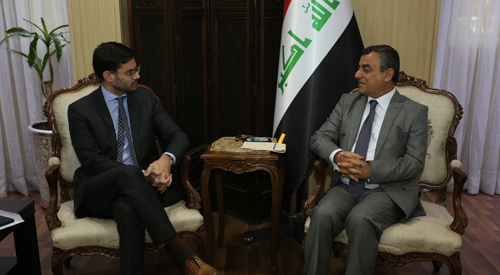 Secretary-General of the Council of Ministers meets with a number of diplomatic missions in Iraq and welcomes the support of friendly countries to restore stability of liberated cities 2018-12-24-2