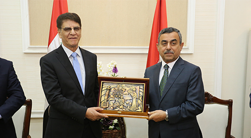 The General Secretariat of the Council of Ministers honors its assistants to reach the end of the civil service 2018-12-30