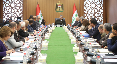 Secretary General of the Council of Ministers chairs the meeting of the Government Program Team 2018-2022 2019-01-13