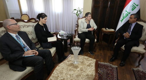 Secretary-General of the Council of Ministers discusses the next steps of the United Nations program on the project to restore stability in Iraq 2019-01-20-1