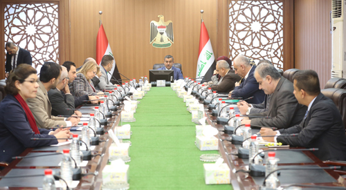 The Secretary-General of the Council of Ministers chairs the meeting of the Committee for the Coordination and Management of Government Activity towards the establishment of electronic governance 2019-01-20