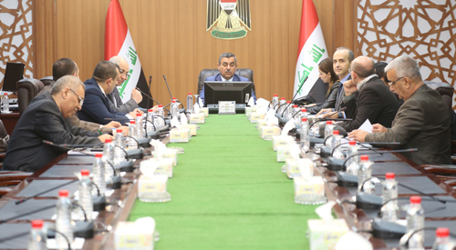 Secretary General of the Council of Ministers discusses with the relevant authorities the development of the housing sector in the liberated areas 2019-01-24