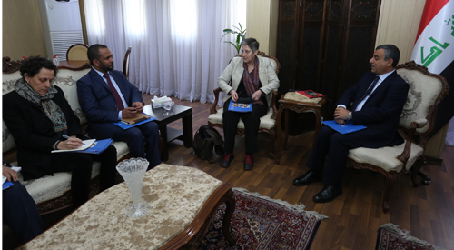 Secretary-General of the Council of Ministers discusses the next steps of the United Nations program on the project to restore stability in Iraq 2019-02-17