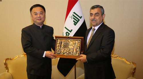 Secretary General of the Council of Ministers renews the desire to develop the horizon of joint cooperation between Iraq and China and expand the role of Chinese companies in the future 2019-02-19-1