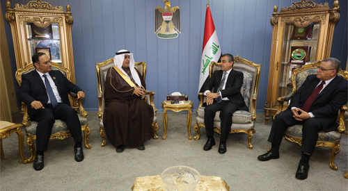 Secretary General of the Council of Ministers receives the Saudi Ambassador and the delegation of the King Salman Center for Relief and Humanitarian Affairs 2019-02-25-1