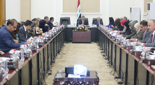 The multisectoral national team discusses the draft implementation of the second phase of the national plan of UN Security Council Resolution 1325 on women, peace and security 2019-03-03