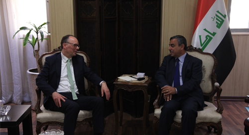 Secretary-General of the Council of Ministers receives the German Commissioner to prevent crises and achieve stability 2019-04-21-2