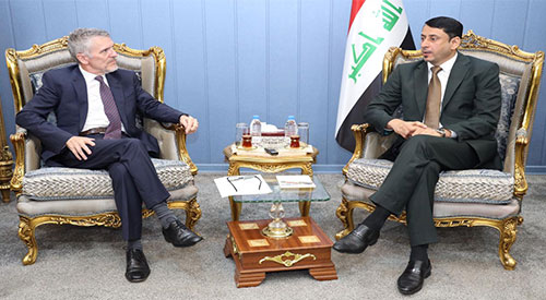 Secretary-General of the Council of Ministers meets with the head of the mission of the International Organization for Migration in Iraq, and stresses the need for concerted efforts to accelerate the return of the remaining displaced 2019-06-27-04