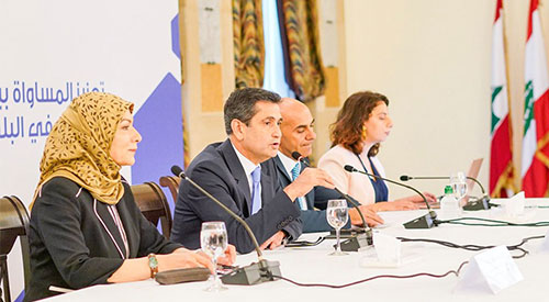 The General Secretariat of the Council of Ministers participates in the Regional Forum for the Promotion of Gender Equality 2019-07-08-03