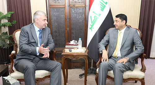 Secretary General of the Council of Ministers confirms Iraq's desire to cooperate with Russian companies to develop investment infrastructure 2019-07-11-04