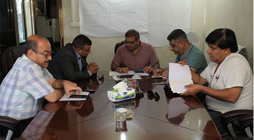Teams follow up the implementation of the government program looking at projects implemented in a number of governorates 2019-07-20-01