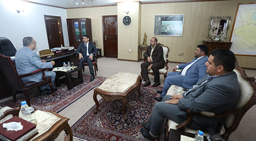 Secretary General of the Council of Ministers Najaf journalists solve the administrative obstacles to the granting of residential land 2019-07-27-01