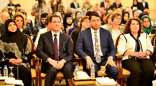 The Secretary General of the Council of Ministers opens the Conference on Sustainable Development for the Empowerment of Iraqi Women 2019-09-16-02