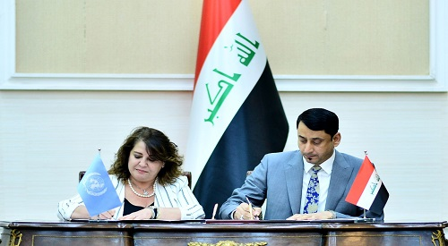 The Secretary General of the Council of Ministers appreciates the participation of the United Nations in amending the draft laws of the Electoral Commission and the Law of the House of Representatives 2019-11-19