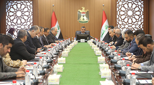 Council of the General Secretariat of the Council of Ministers discusses the question of the security situation in Iraq 2019-2-18