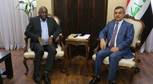 Secretary General of the Council of Ministers discusses with the representative of UNICEF ways to develop the level of education in Iraq 2019-20-02