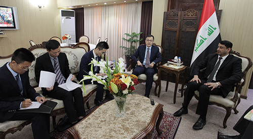 Secretary-General of the Council of Ministers assured the Chinese Ambassador of Iraq's desire to bring Chinese giants to the reconstruction of the country 2019-6-20-5