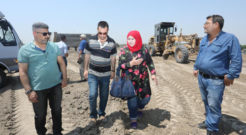 The General Secretariat of the Council of Ministers carries out a field trip to the Kish-Hilla road project 2019-7-31-02