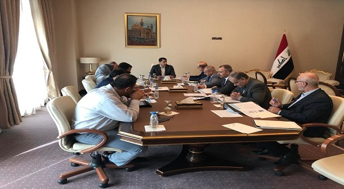 The e-government committee approves a set of projects to be implemented in Baghdad and the provinces 2019-8-24