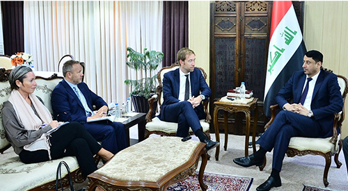 The Secretary-General receives the Special Envoy of the Norwegian Foreign Ministry and his accompanying delegation 2019-8-26
