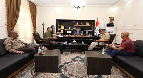 Teams to follow up the implementation of the government program meet officials in the provinces of Basra and Dhi Qar 2019-9-15-2