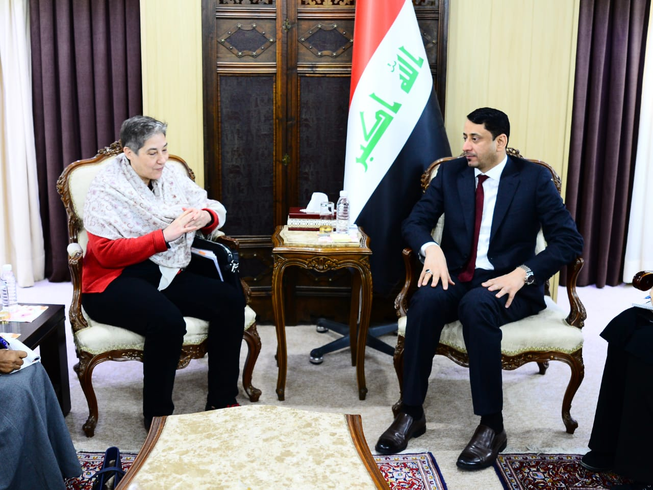 The Secretary-General of the Council of Ministers discusses with the Deputy Special Representative of the Secretary-General of the United Nations the developments of the stabilization projects 2020-01-20