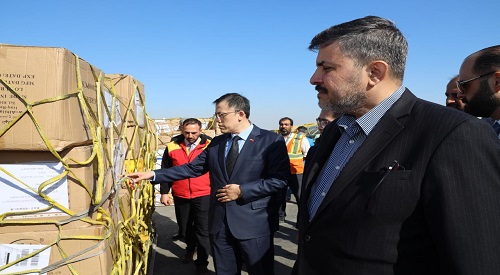The Iraqi-Chinese Society sends medical aid to the Chinese people 2020-2-14